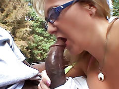 All, Blonde, Blowjob, Dirty, Facial, Interracial