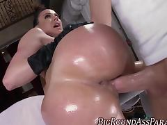 Big booty glam milf fucks