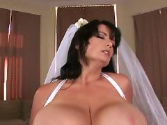Tits, Big Tits, Boobs, Bride, Wedding, Married