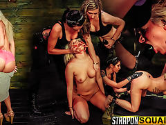 Girl Next Door Layla Price Gets Bound & Dominated by Isa Mendez &