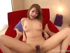 Pretty Japanese girl Asuka Kirara loves getting fucked by a thick cock