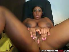 Black, Big Tits, Black, Boobs, Ebony, Masturbation