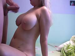 fat russian blonde