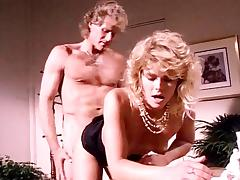 K.C. Williams, Randy West in classic porn video featuring hot blonde chick