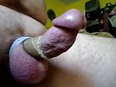 Excited hard dick - short video
