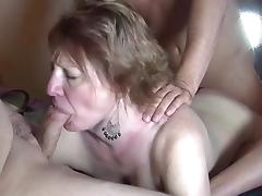 Mom and Boy, Amateur, Banging, Gangbang, Group, Mature