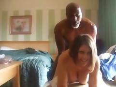 Hot Wife Fucked Hard Doggy by BBC