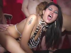 Vagina, Drilled, Group, Hardcore, Orgy, Pussy