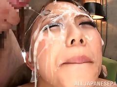 Bukkake, Asian, Bukkake, Close Up, Cumshot, Facial
