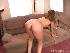 Raven-haired slutty bitch handles a big black cock in this interracial scene