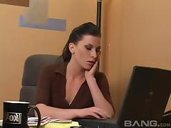 Boss, Boss, Fingering, Lesbian, Nude, Office