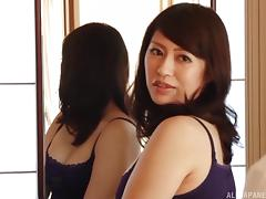Hot milf Kaori Otonashi enjoys foreplay and passionate sex