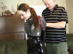 Bound, BDSM, Bondage, Bound, Latex, Office