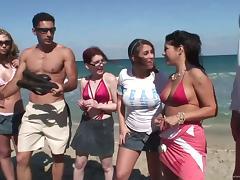 Bikini, Babe, Beach, Big Cock, Bikini, Hardcore