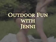 Outdoor Pleasure Time With Jenni