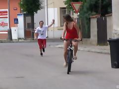 Biker, Amateur, Biker, Couple, Cute, Hardcore