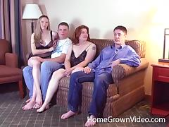 Neighbors, Amateur, Couple, Foursome, Group, Hardcore