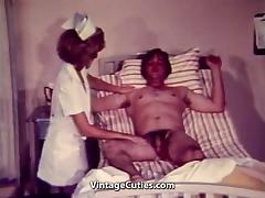 Varmint Nurse Sucks Cock (1960s Vintage)