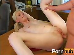 Cute Teenie Blonde Fucked
