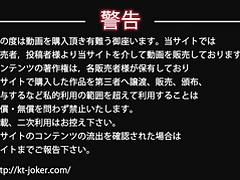 Hidden camera toilet Kt-joker okn003 vol.003 From the bottom face vol.003 glasses rate Takashi