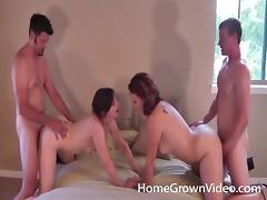 Swingers, Amateur, Couple, Doggystyle, Hardcore, Homemade