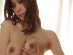 High-heeled Asian slut with nice big tits enjoying a hardcore fuck