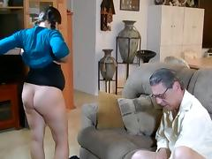 Grandpa, Blowjob, Creampie, Grandpa, Old Man, Pregnant