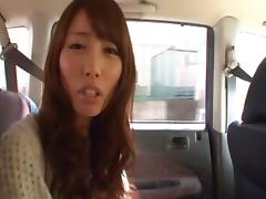 Alice Miyuki sucks dick in POV porn videos and tastes jizz