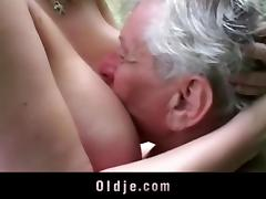 Old and Young, 18 19 Teens, Grandpa, Horny, Huge, Naughty