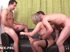 Mom and Boy, Amateur, Anal, Audition, Casting, Double