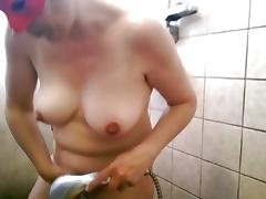 Dutch Alexandra pleasures her big twat