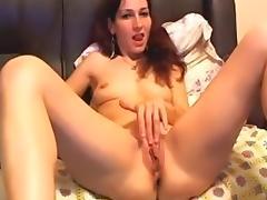 In my homemade masturbating vid, I'm jilling off