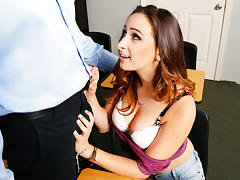 Ashley Adams & Tony D in Naughty Bookworms