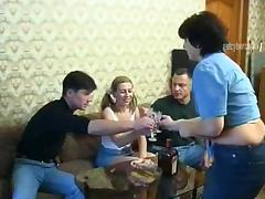 Drunk, Amateur, Cowgirl, Drunk, Foursome, Group