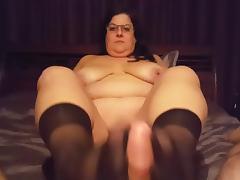 Nylon footjob till cum