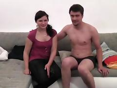 I'm fucked by my bf in my homemade creampie porn video