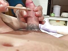 brazilian wax boner