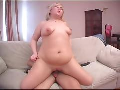 Short haired bbw is in need of a hardcore pussy pounding