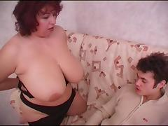 Steamy pussy drilling action with sex starved bbw