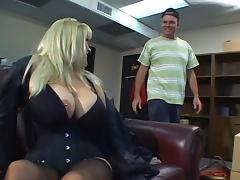 Mom and Boy, 18 19 Teens, Big Tits, Blonde, Boobs, Mature