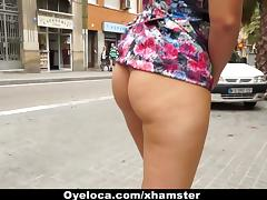 OyeLoca - Spanish Slut Gets Pussy And Ass Fucked