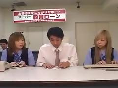 Two Japanese OLs spitting on coworker