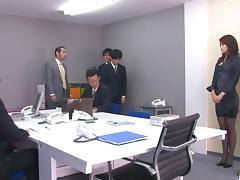 Bimbo, Asian, Bimbo, Japanese, Office, Stockings
