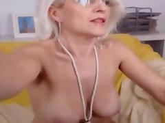 Cougar, Amateur, Blonde, Cougar, French, Webcam
