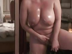 Mother I'd Like To Fuck With Enormous Hangers Masturbates