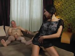 Beauty, Beauty, Blowjob, Cute, Fucking, Old Man