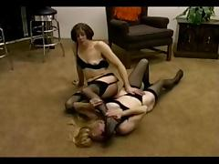 Catfight, Catfight, Lesbian, Mature, Old, Wrestling