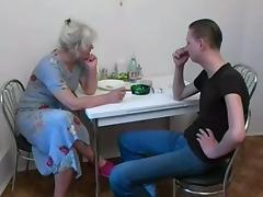 Mom, Blonde, Blowjob, Mature, Mom, Mother