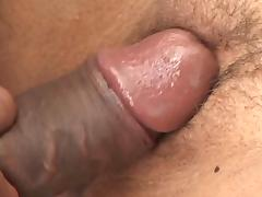 Petite latina gets on her knees to deep throat black meat