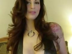 Dirty Talking Milf with Big Tits Masturbating
